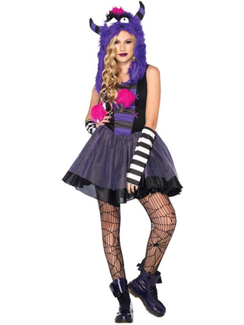 Punky Monster - Teen Costume