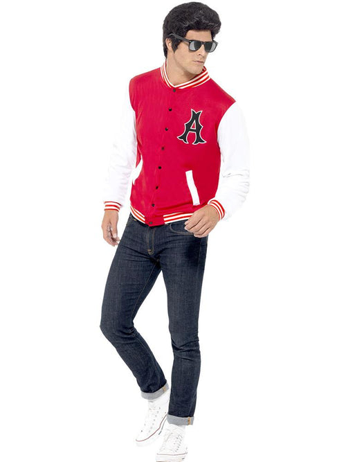 50's College Jock Letterman Jacket
