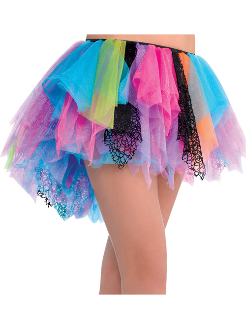 80's Rainbow Tutu - One Size