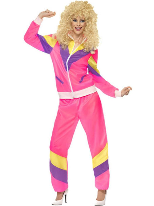 Womens 80's Shell Suit Costume