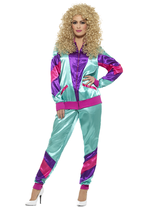 Womens 80s Shell Suit