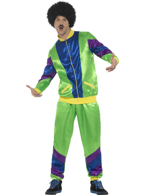 Mens 80s Shell Suit Costume