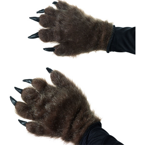 Hairy Wolf Hand Gloves