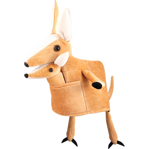 Adult Kangaroo with Baby Hat - Australia Day Hat