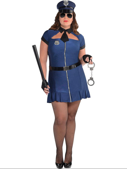 Bad Cop Plus Size Costume