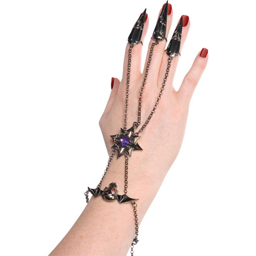 Bat Finger Bracelet