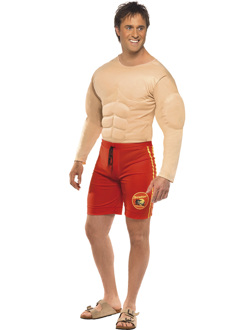 Baywatch Lifeguard Man Costume