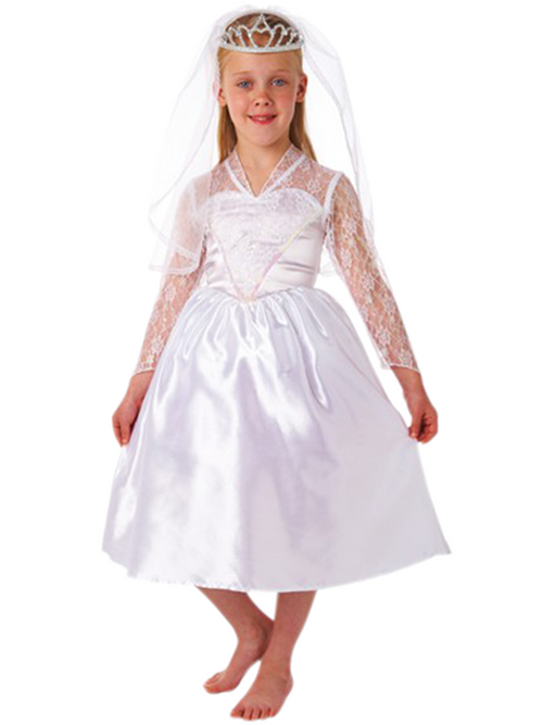 Beautiful Bride Childrens Costume