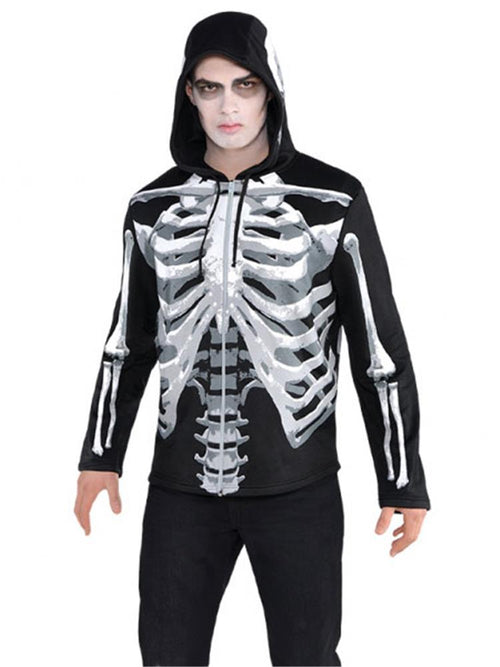 Black and Bone Hoodie -  Costume