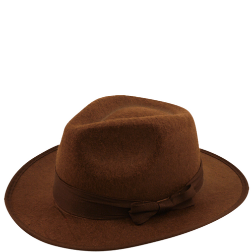 Brown Fedora Hat- Freddy Krueger Friday 13th