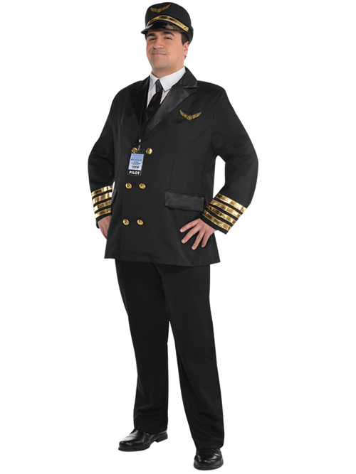 Captain Wingman Pilot Costume