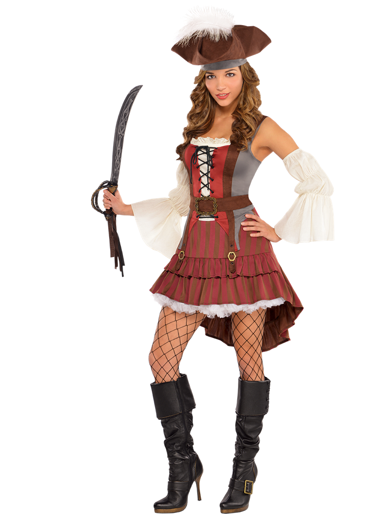 Castaway Pirate - Adult Costume