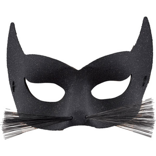 Cat Eye Mask with Whiskers