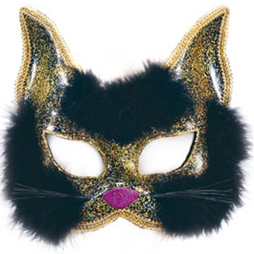 Cat Masquerade Mask - Women's New Year's Eve Christmas Mask