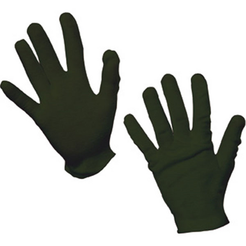 Childrens Black Gloves