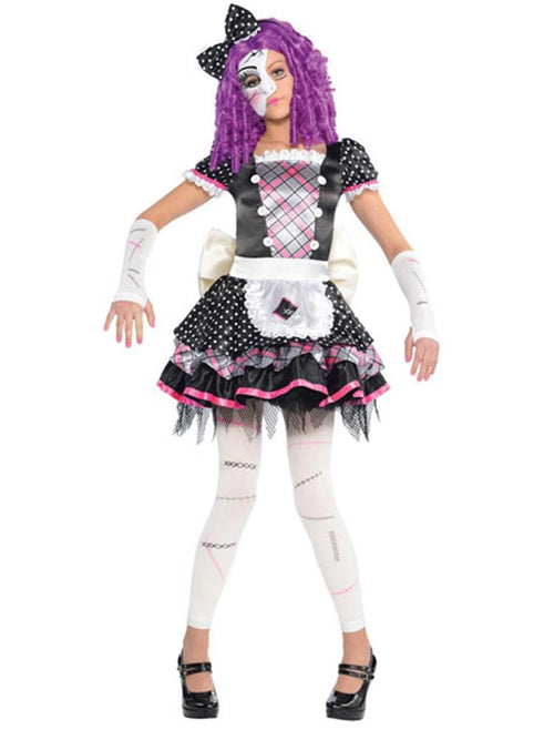 Damaged Doll - Child Costume