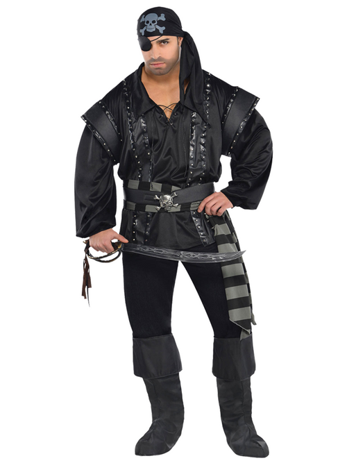 Dark Sea Scoundrel Plus Size - Adult Costume