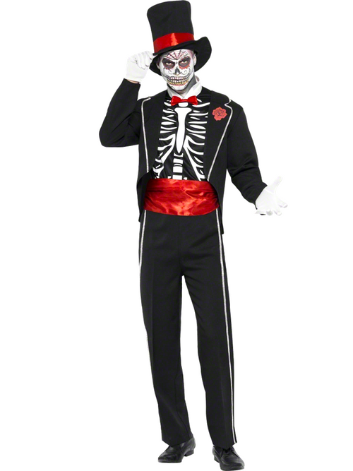 Day of The Dead - Adult Costume