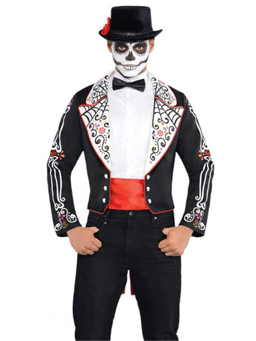 Day of the Dead Coat Set - Costume