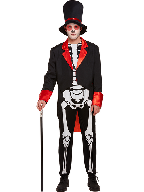 Day of the Dead Skeleton - Adult Costume
