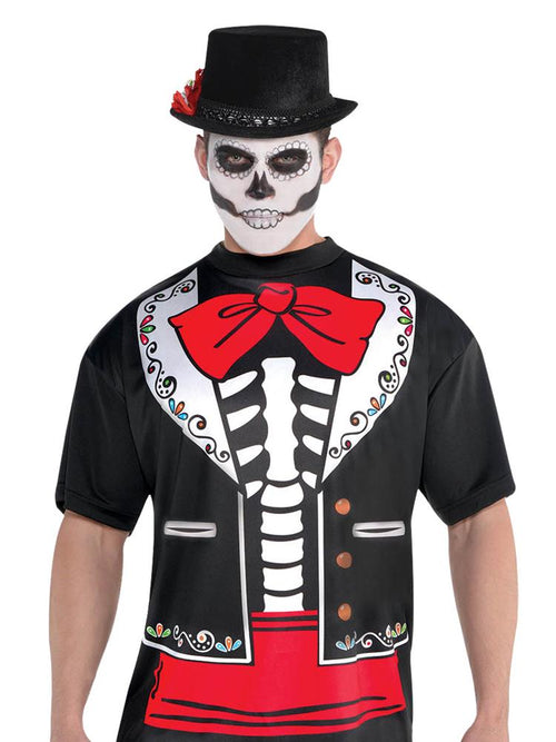 Day of the Dead T-Shirt - Adult Costume