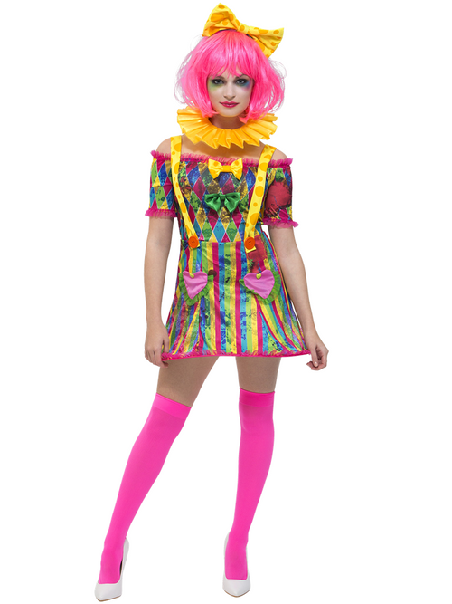 Fever Patchwork Clown - Costume