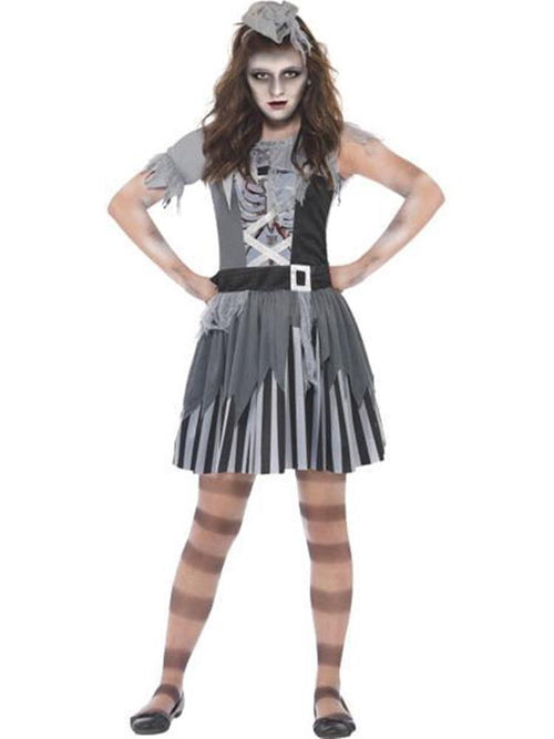 Ghost Ship Pirate Girl - Child Costume