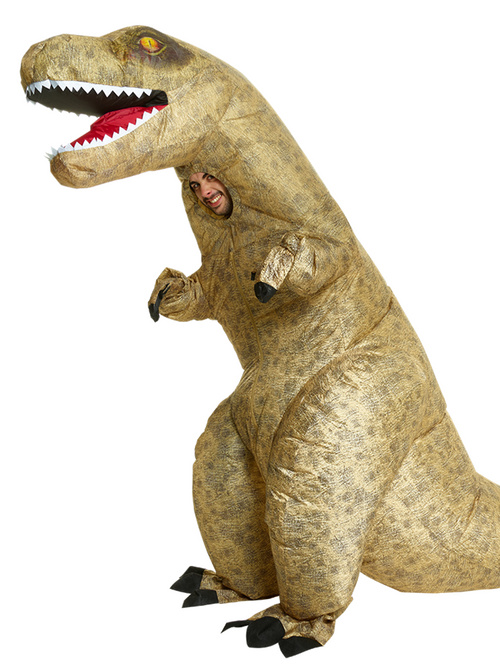 Giant Inflatable T-Rex - Adult Costume