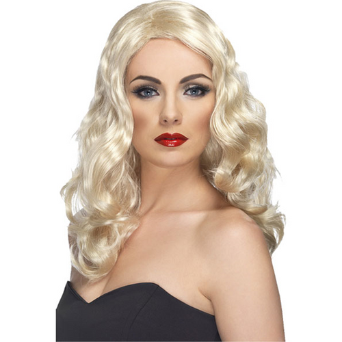 Glamorous Curly Blonde Wig