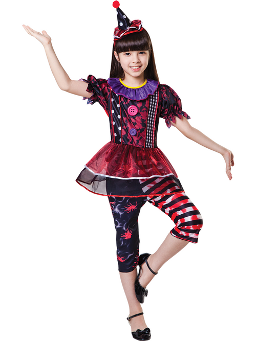 Halloween Clown Girl - Child Costume
