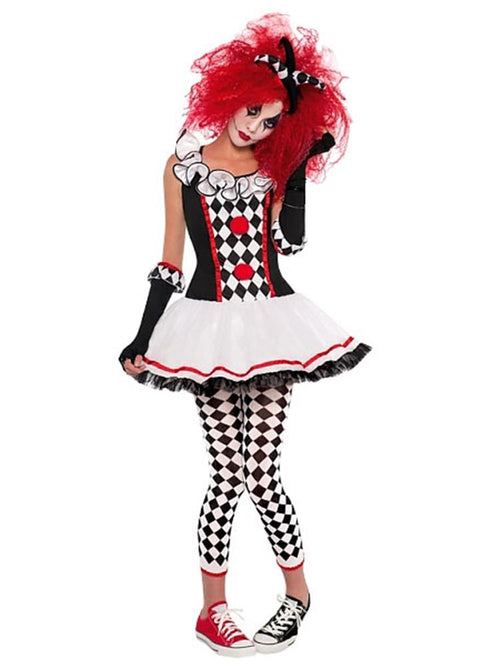 Harlequin Honey - Teen Costume