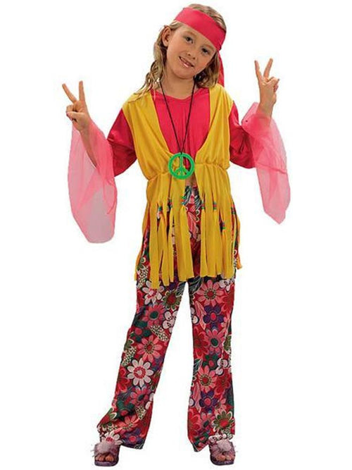 Hippy Girl Sixties - Child Costume