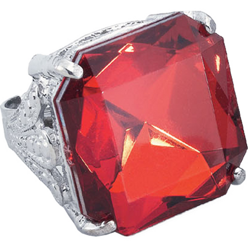Jumbo Gem Ring - Halloween Jewellery