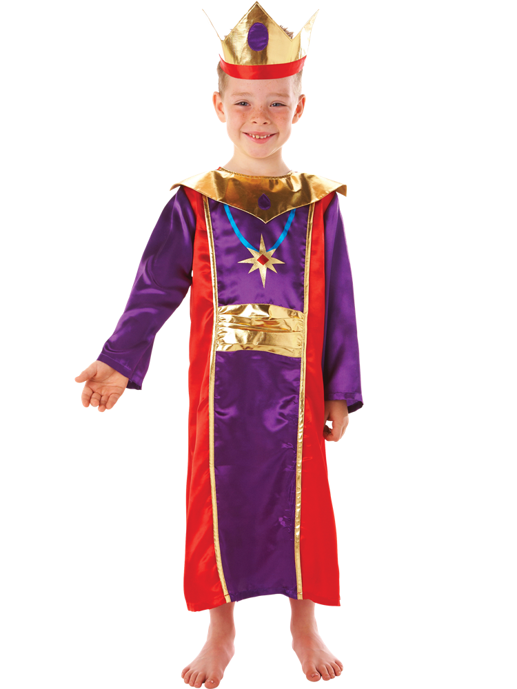 King - Child Costume - Fancy Dress Party Shop