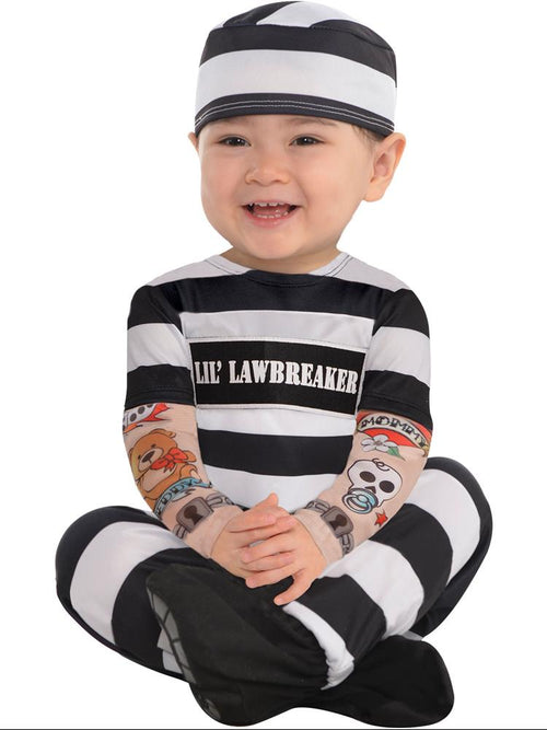 Lil' Law Breaker - Baby Costume
