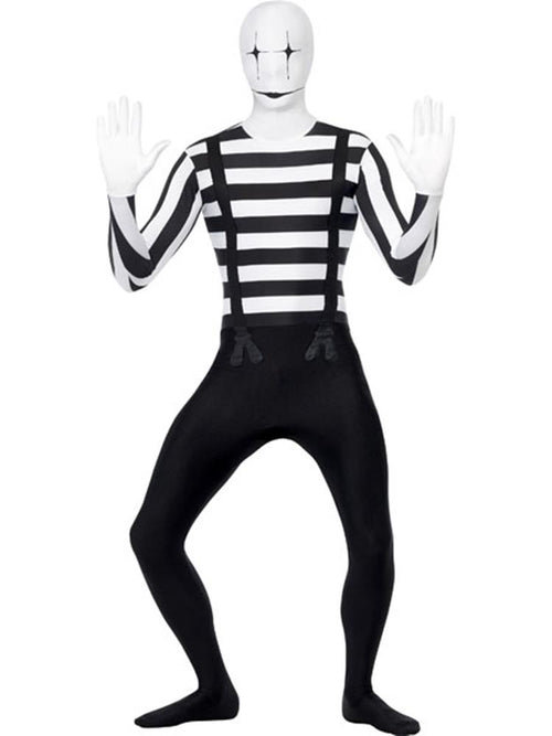 Mime Second Skin Suit - Costume