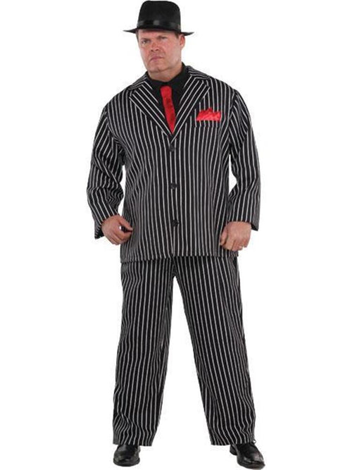 Mobb Boss Plus Size - Adult Costume