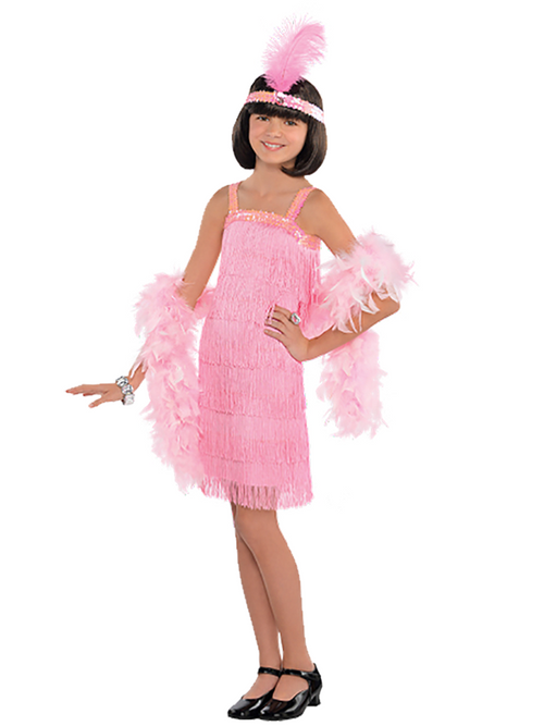1920s Pink Flapper - Child Costume