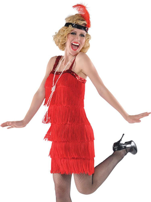 Red Flapper - Costume