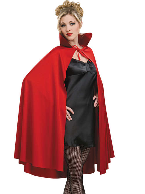 Red Mid Length Cape