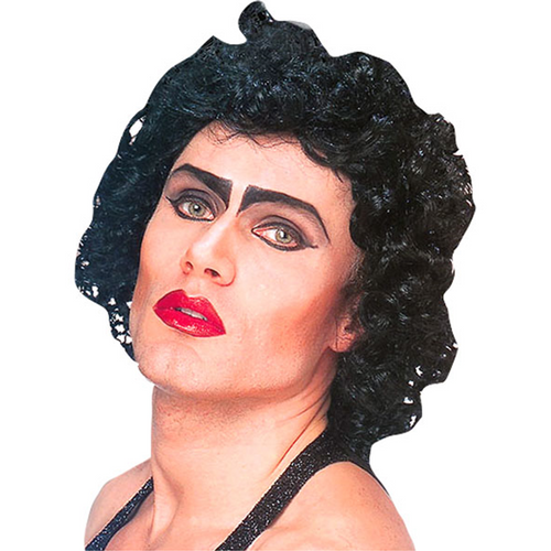Rocky Horror Frank n Furter - Black Wig