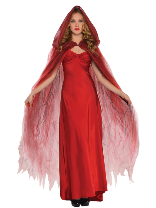 Scarlet Temptress Cape - Costume