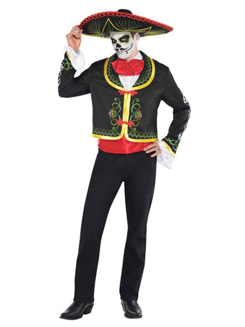 Senor Day of the Dead - Adult Costume