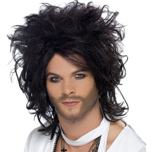 Sex God - Russell Brand - Black Wig