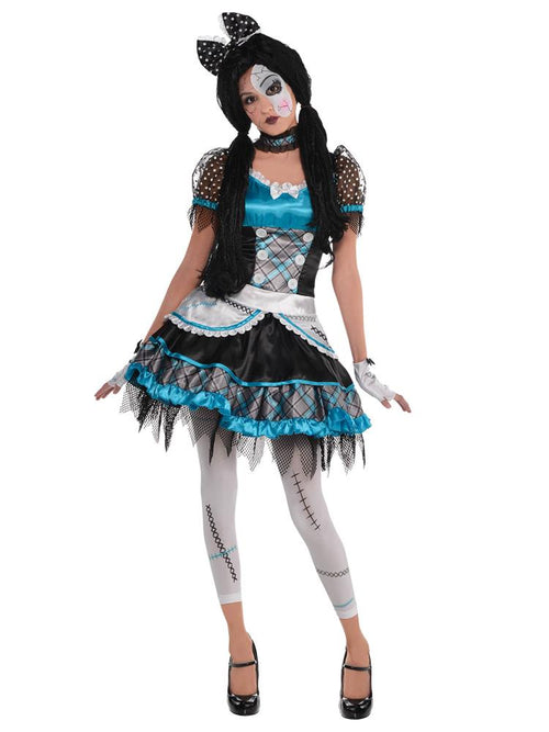 Shattered Doll - Child and Teen Costume