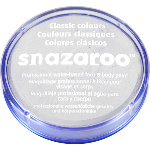 Snazaroo White Face Paint - Halloween Makeup - 18ml