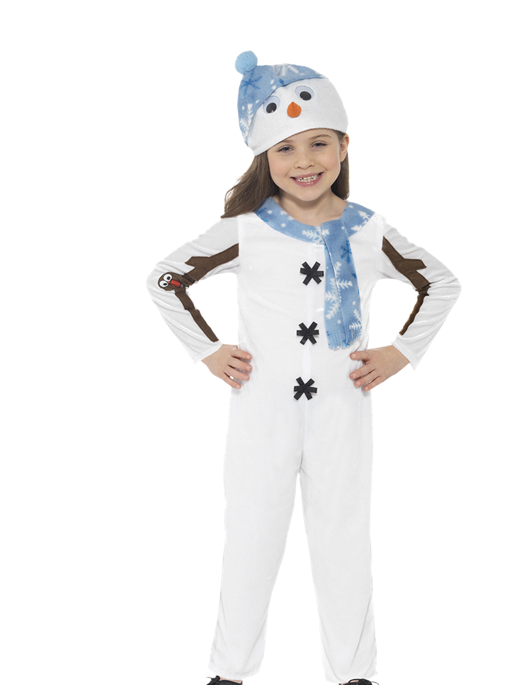 Snowman Jumpsuit - Child Costume