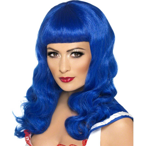 Sweatheart Blue Wig - Katy Perry