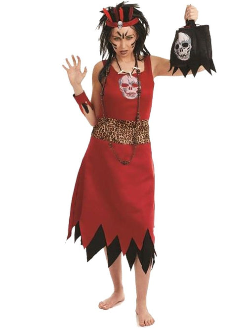 Witch Doctoress - Adult Costume