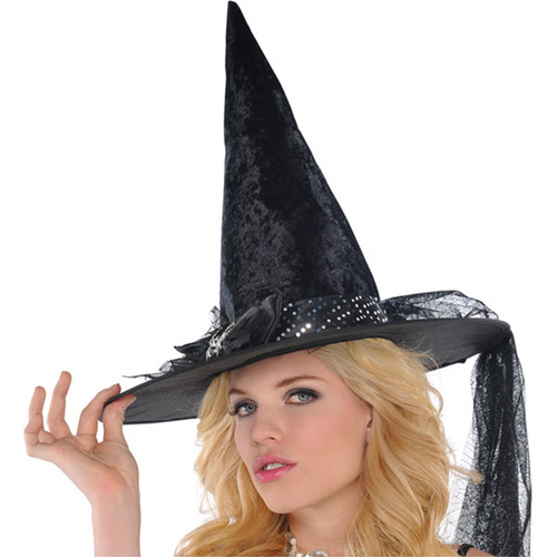 Witches Fancy Spider Bow Hat